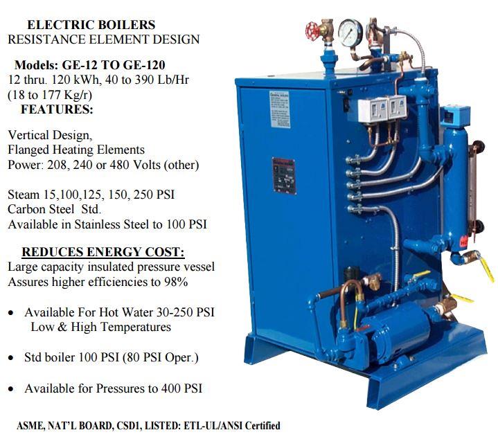 general electric boiler