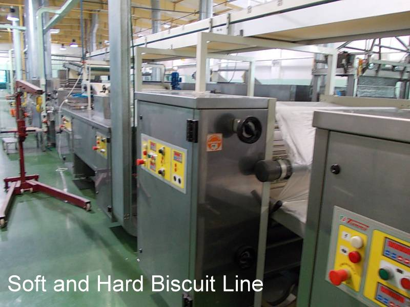 Soft and Hard Biscuit Line for Industrial or Commercial Bakery