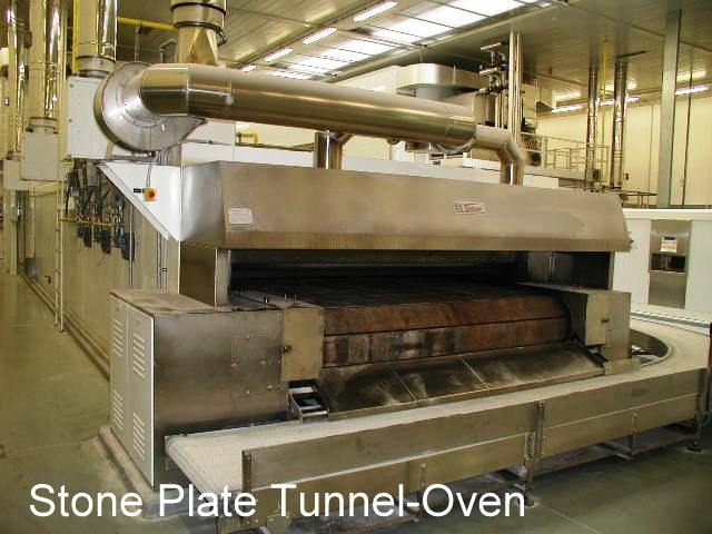 Stone Plate Tunnel-Oven for Industrial or Commercial Bakery