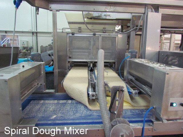 Spiral Dough Mixer for Industrial or Commercial Bakery