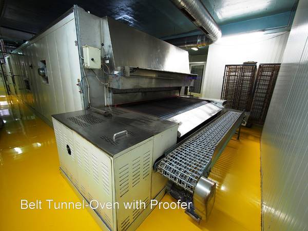 Belt Tunnel-Oven with Proofer for Industrial or Commercial Bakery